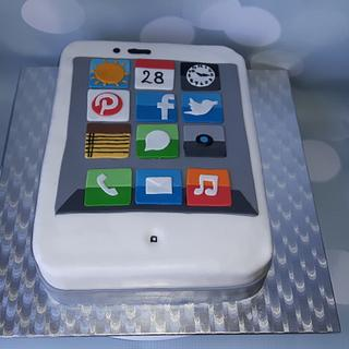 I Phone cake.