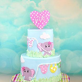 Elephant theme Baby shower