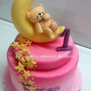 Tender Teddy Cake