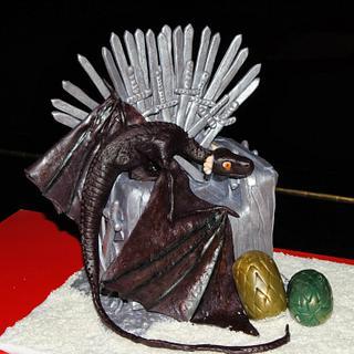 Game of Thrones Cake - Cake by En Clave de Azucar