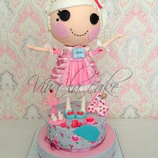 """Lalaloopsy cake """"Suzette La Sweet"""""""