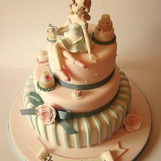 """""""Vintage Cake Lover"""""""