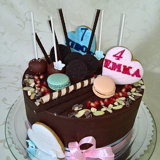 Ganache cake