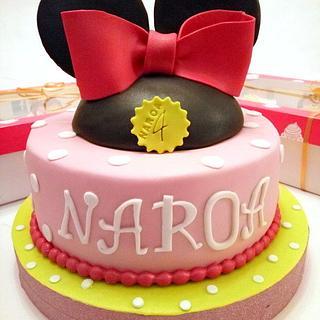 TArta Minnie Mouse Naroa y Cupcakes