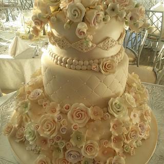 Capodimonte Wedding Cake