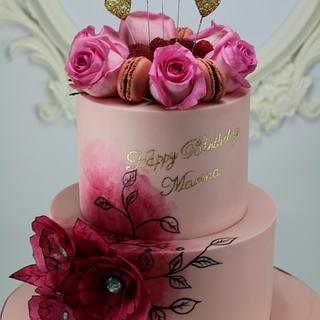 Birthday cake - Cake by Brana