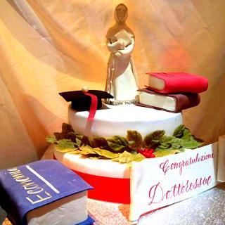 Graduation cake - Cake by La Mimmi