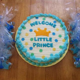 Little Prince Cake and Cookies