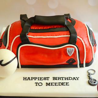 Gym Bag Cake  - Cake by Nelly S.Kamal