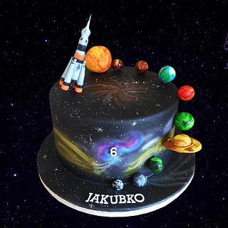 cosmos - Cake by LiViera