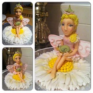 Fairy topper - Cake by Nicky Gunn