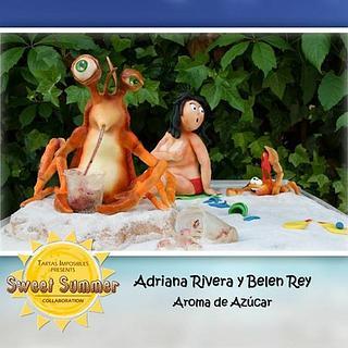 Sweet Summer Collab El ataque de los cangrejos gigantes!