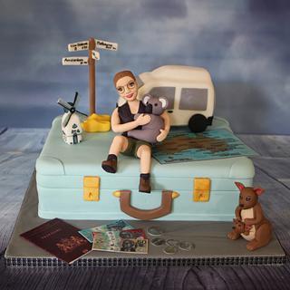 Travel cake Australia
