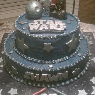 Star Wars Birthday Cake - Cake by eiciedoesitcakes