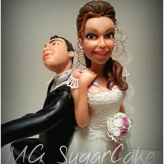 wedding topper - Cake by MG SugarCake