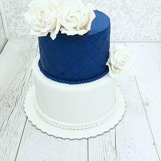 Wedding cake - Cake by Nebibe Nelly