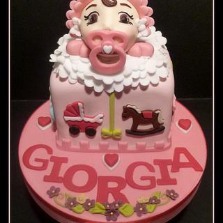 """Baby birthday - Cake by """"Le torte artistiche di Cicci"""""""