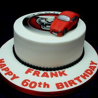 Jaguar Car Cake - Cake by Alison Inglis