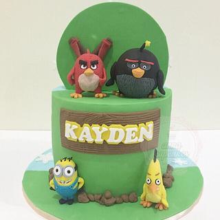 Dual themed cake