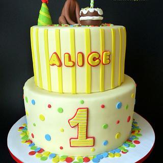 Corious George - Cake by Clara