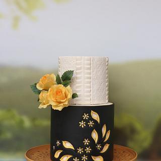 Pottery inspired cake