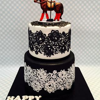 Polo!  - Cake by Tiers of joy