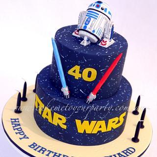 Star Wars Cake- R2D2