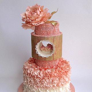 Princesses are born in... - Cake by Delice