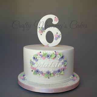 Pretty Floral Cake