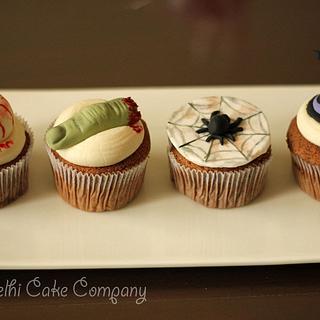 Halloween Cupackes - Cake by Smita Maitra (New Delhi Cake Company)