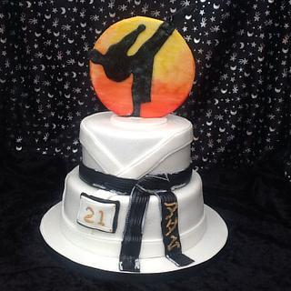 Karate Birthday Cake - Cake by JulieCraggs