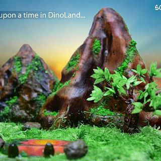 The Dino Park Dessert Table - Cake by PoojasDesignerCakes