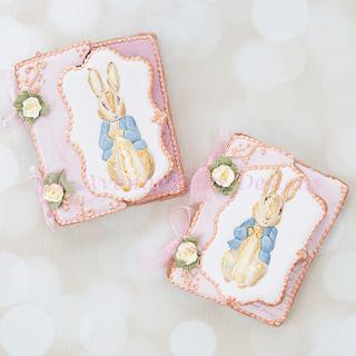 Vintage Dimensional Peter Rabbit Cookie Cards 🐰🌷🌱