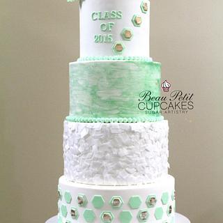 Class of 2015 - Cake by Beau Petit Cupcakes (Candace Chand)