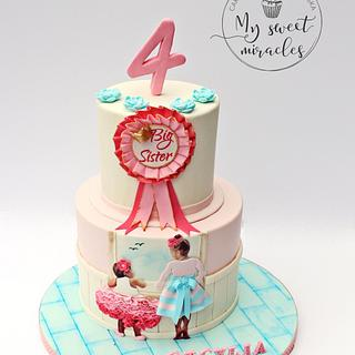 big sister - Cake by My sweet miracles