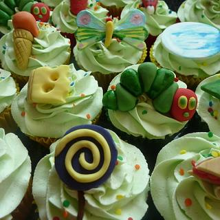 Hungry Caterpillar Cupcakes - Cake by Sian
