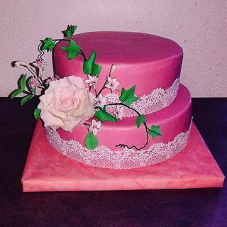 Wedding cake - Cake by Jobe