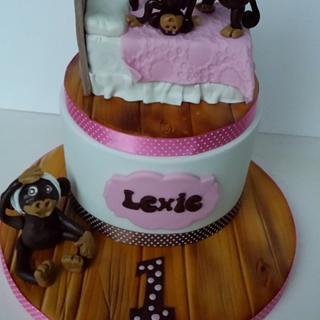 5 Little Monkeys - Cake by Jenny Dowd