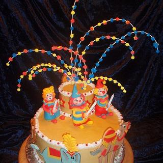 """Circus Cake (from the book """"Monsters Birthday Party"""")"""