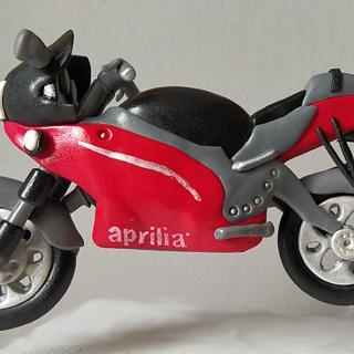 Aprilia motorcycle topper