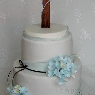 ... for Confirmation - Cake by lamps