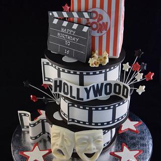 Cinema Cake - Cake by Cathy Leavitt