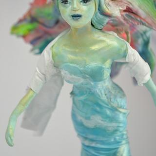Sylph - Fantastic Creatures Challenge - Cake by Jenny Kennedy Jenny's Haute Cakes