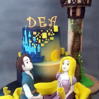 Rapunzel - Cake by Antonia Lazarova