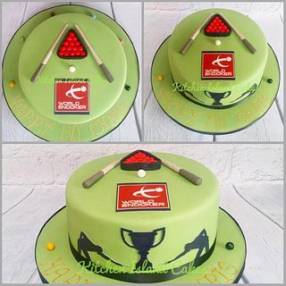 World Snooker cake
