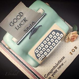 New job  - Cake by Ebtehal