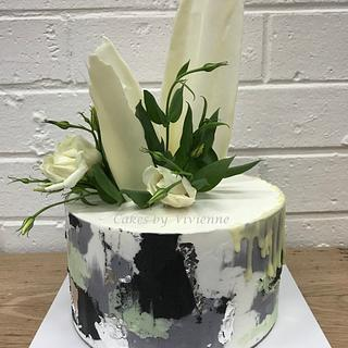 Concrete Buttercream Cake - Cake by Cakes by Vivienne