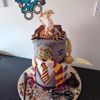 Harry Potter cake  - Cake by Donnajanecakes