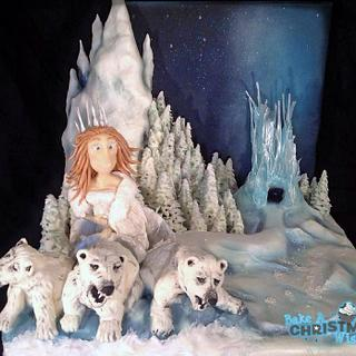 Queen of Narnia for bake a Christmas wish