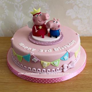 Peppa pig cake - Cake by Zoe's Fancy Cakes